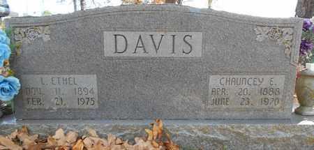 DAVIS, CHAUNCEY E. - Texas County, Missouri | CHAUNCEY E. DAVIS - Missouri Gravestone Photos