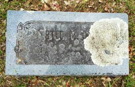 DAVIS, MYRTLE MAE - Texas County, Missouri | MYRTLE MAE DAVIS - Missouri Gravestone Photos