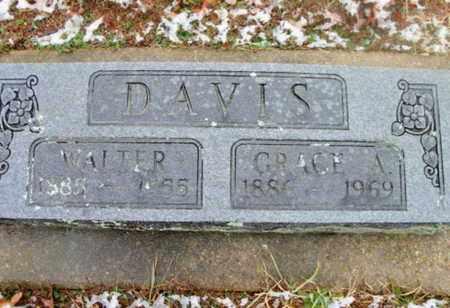 DAVIS, GRACE A. - Texas County, Missouri | GRACE A. DAVIS - Missouri Gravestone Photos