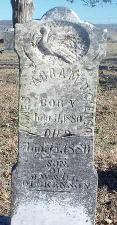 DICKENSON, JAMES ABRAM - Texas County, Missouri | JAMES ABRAM DICKENSON - Missouri Gravestone Photos