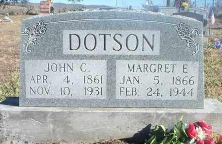 FUGATE DOTSON, MARGRET E. - Texas County, Missouri | MARGRET E. FUGATE DOTSON - Missouri Gravestone Photos