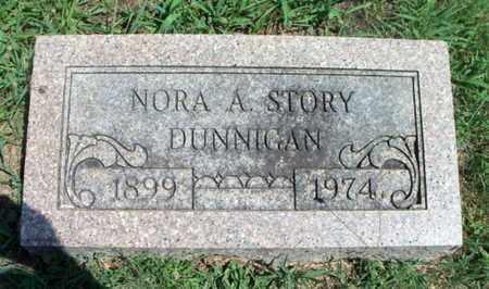 GORDON DUNNIGAN, NORA A. - Texas County, Missouri | NORA A. GORDON DUNNIGAN - Missouri Gravestone Photos