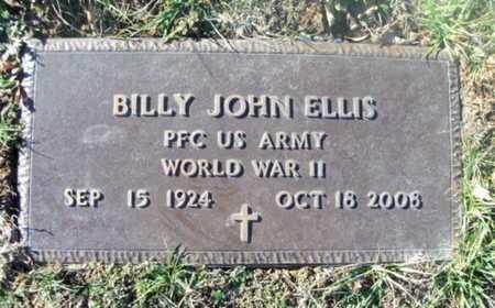 ELLIS, BILLY JOHN VETERAN WWII - Texas County, Missouri | BILLY JOHN VETERAN WWII ELLIS - Missouri Gravestone Photos