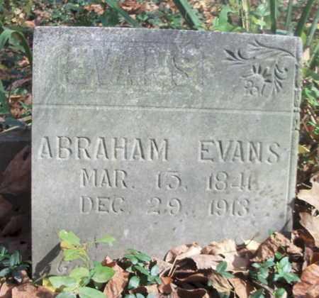 EVANS, ABRAHAM - Texas County, Missouri | ABRAHAM EVANS - Missouri Gravestone Photos