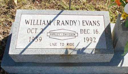 "EVANS, WILLIAM ""RANDY"" - Texas County, Missouri   WILLIAM ""RANDY"" EVANS - Missouri Gravestone Photos"