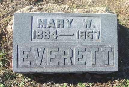 O'BRIEN EVERETT, MARY WINIFRED - Texas County, Missouri | MARY WINIFRED O'BRIEN EVERETT - Missouri Gravestone Photos