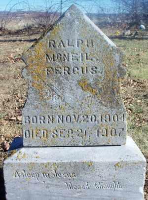 FERGUS, RALPH MCNEIL - Texas County, Missouri   RALPH MCNEIL FERGUS - Missouri Gravestone Photos