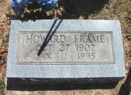 FRAME, HOWARD - Texas County, Missouri | HOWARD FRAME - Missouri Gravestone Photos