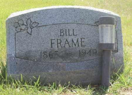 "FRAME, WILLIAM NELSON ""BILL"" - Texas County, Missouri | WILLIAM NELSON ""BILL"" FRAME - Missouri Gravestone Photos"