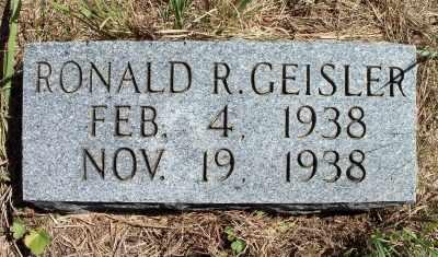 GEISLER, RONALD RUFUS - Texas County, Missouri | RONALD RUFUS GEISLER - Missouri Gravestone Photos