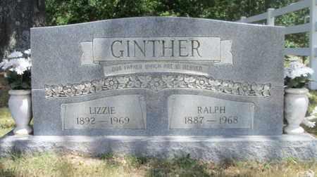 "GINTHER, MARY ELIZABETH ""LIZZIE"" - Texas County, Missouri | MARY ELIZABETH ""LIZZIE"" GINTHER - Missouri Gravestone Photos"