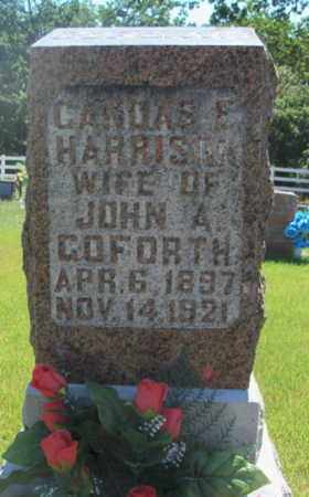 HARRISON GOFORTH, CANDAS E. - Texas County, Missouri   CANDAS E. HARRISON GOFORTH - Missouri Gravestone Photos