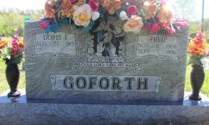 GOFORTH, FRED - Texas County, Missouri | FRED GOFORTH - Missouri Gravestone Photos