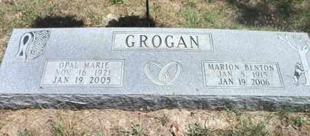 GROGAN, OPAL MARIE - Texas County, Missouri | OPAL MARIE GROGAN - Missouri Gravestone Photos