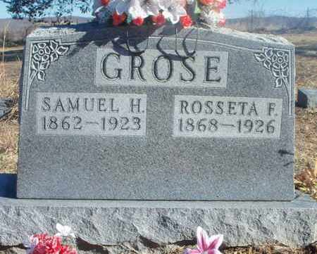GROSE, SAMUEL H. - Texas County, Missouri | SAMUEL H. GROSE - Missouri Gravestone Photos