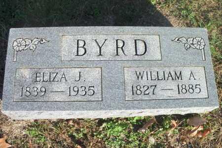 BYRD, WILLIAM A - Texas County, Missouri | WILLIAM A BYRD - Missouri Gravestone Photos