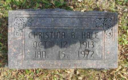 HALE, CHRISTINA B. - Texas County, Missouri   CHRISTINA B. HALE - Missouri Gravestone Photos