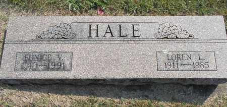 HALE, EUNICE VELMA - Texas County, Missouri | EUNICE VELMA HALE - Missouri Gravestone Photos