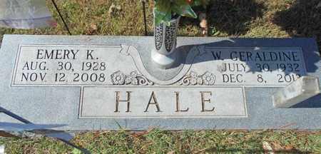 HALE, W. GERALDINE - Texas County, Missouri | W. GERALDINE HALE - Missouri Gravestone Photos