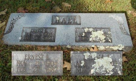 HALE, THELMA FRANCIS - Texas County, Missouri   THELMA FRANCIS HALE - Missouri Gravestone Photos