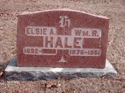 HALE, WILLIAM R. - Texas County, Missouri | WILLIAM R. HALE - Missouri Gravestone Photos
