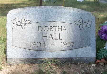HALL, DORTHA MAE - Texas County, Missouri | DORTHA MAE HALL - Missouri Gravestone Photos