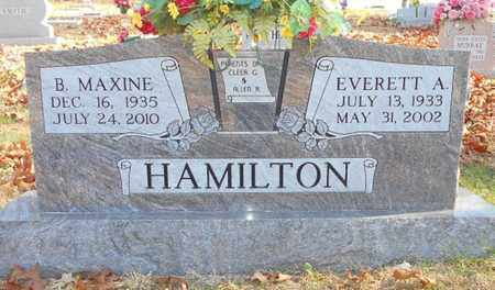 HAMILTON, EVERETT A. - Texas County, Missouri | EVERETT A. HAMILTON - Missouri Gravestone Photos