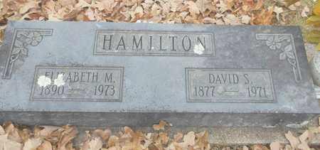 HAMILTON, ELIZABETH M. - Texas County, Missouri   ELIZABETH M. HAMILTON - Missouri Gravestone Photos