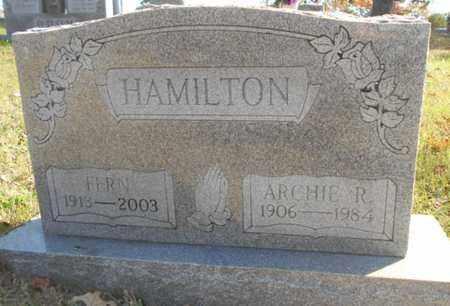 HAMILTON, ARCHIE RAY - Texas County, Missouri | ARCHIE RAY HAMILTON - Missouri Gravestone Photos