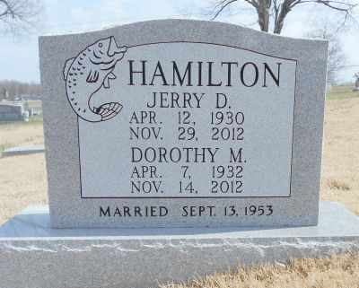 HAMILTON, DOROTHY MARIE - Texas County, Missouri | DOROTHY MARIE HAMILTON - Missouri Gravestone Photos