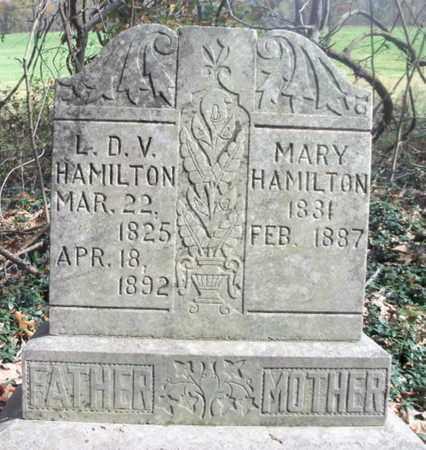 HAMILTON, MARY - Texas County, Missouri   MARY HAMILTON - Missouri Gravestone Photos