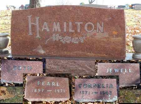 HAMILTON, LOLA PEARL - Texas County, Missouri | LOLA PEARL HAMILTON - Missouri Gravestone Photos