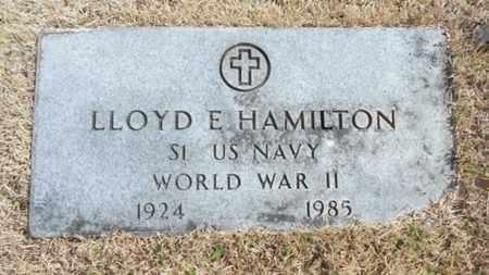 HAMILTON, LLOYD ELMER VETERAN WWII - Texas County, Missouri | LLOYD ELMER VETERAN WWII HAMILTON - Missouri Gravestone Photos