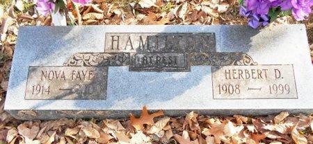HAMILTON, HERBERT D. - Texas County, Missouri | HERBERT D. HAMILTON - Missouri Gravestone Photos