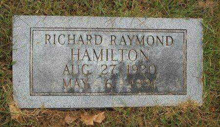 HAMILTON, RICHARD RAYMOND - Texas County, Missouri | RICHARD RAYMOND HAMILTON - Missouri Gravestone Photos