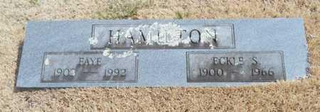 HAMILTON, UNICE FAYE - Texas County, Missouri | UNICE FAYE HAMILTON - Missouri Gravestone Photos