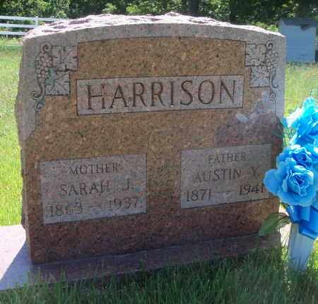 CHAMBERS HARRISON, SARAH JANE - Texas County, Missouri | SARAH JANE CHAMBERS HARRISON - Missouri Gravestone Photos