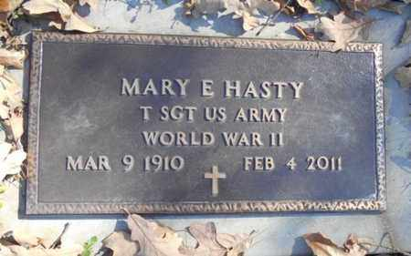 HASTY, MARY E.  VETERAN WWII - Texas County, Missouri | MARY E.  VETERAN WWII HASTY - Missouri Gravestone Photos