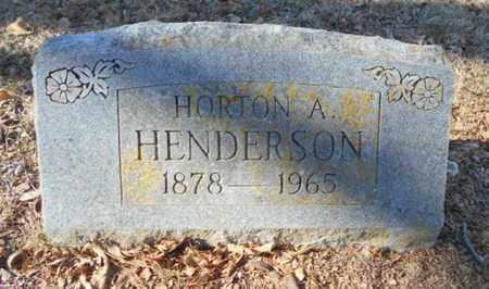 HENDERSON, HORTON A. - Texas County, Missouri | HORTON A. HENDERSON - Missouri Gravestone Photos