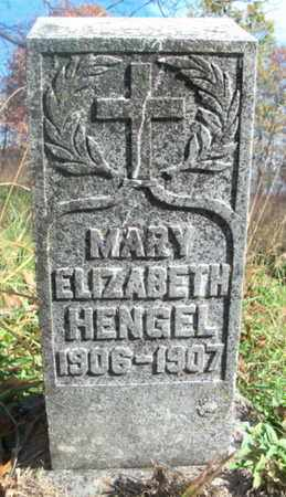 HENGEL, MARY ELIZABETH - Texas County, Missouri | MARY ELIZABETH HENGEL - Missouri Gravestone Photos