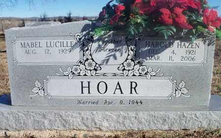 HOAR, HAROLD HAZEN - Texas County, Missouri | HAROLD HAZEN HOAR - Missouri Gravestone Photos