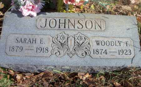 JOHNSON, WOODLY T. - Texas County, Missouri | WOODLY T. JOHNSON - Missouri Gravestone Photos