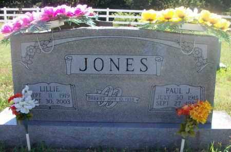 WALLING JONES, LILLIE - Texas County, Missouri   LILLIE WALLING JONES - Missouri Gravestone Photos