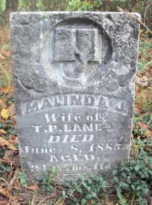 LANE, MALINDA J. - Texas County, Missouri | MALINDA J. LANE - Missouri Gravestone Photos