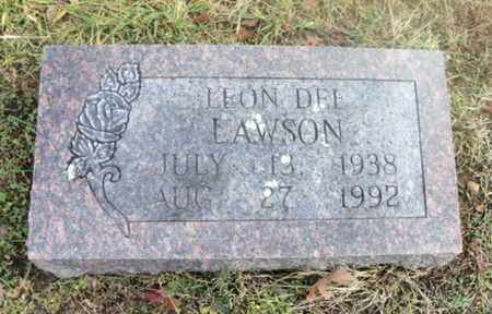 LAWSON, LEON DEE - Texas County, Missouri | LEON DEE LAWSON - Missouri Gravestone Photos