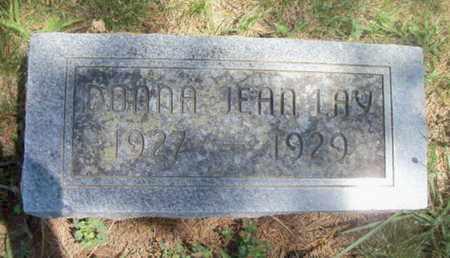 LAY, DONNA JEAN - Texas County, Missouri | DONNA JEAN LAY - Missouri Gravestone Photos