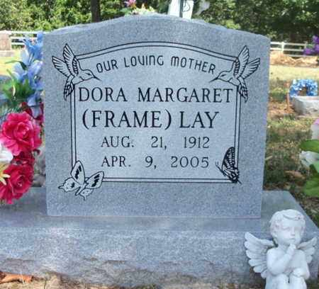 FRAME LAY, DORA MARGARET - Texas County, Missouri | DORA MARGARET FRAME LAY - Missouri Gravestone Photos