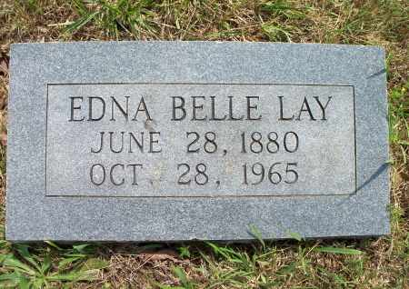 LAY, EDNA BELLE - Texas County, Missouri | EDNA BELLE LAY - Missouri Gravestone Photos