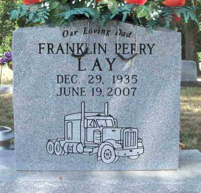 LAY, FRANKLIN PERRY - Texas County, Missouri | FRANKLIN PERRY LAY - Missouri Gravestone Photos