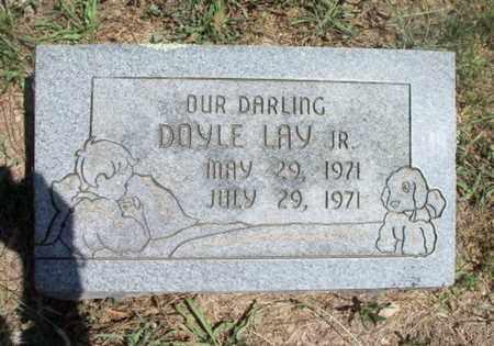 LAY, DOYLE, JR. - Texas County, Missouri | DOYLE, JR. LAY - Missouri Gravestone Photos